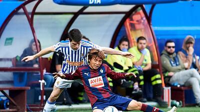 En fotos: Eibar y Real Sociedad empatan sin goles con Héctor Moreno en la banca
