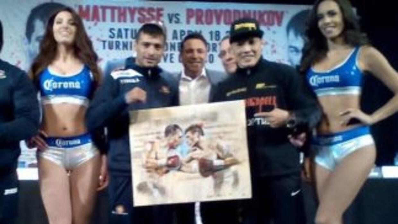 Matthysse y Provodnikov muy respetuosos en conferencia de prensa (Foto:...
