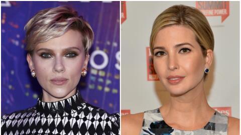 Scarlett criticó el nuevo papel de Ivanka como Asistente del Pres...