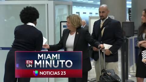 'Miami en un Minuto': congresista Ileana Ros-Lehtinen anuncia que se ret...