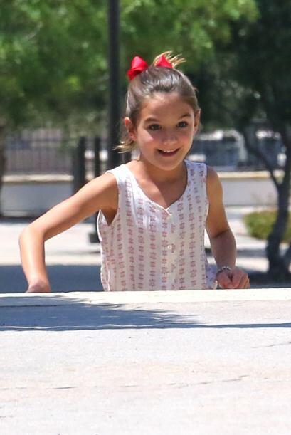 La hija de Tom Cruise y Katie Holmes está enorme.