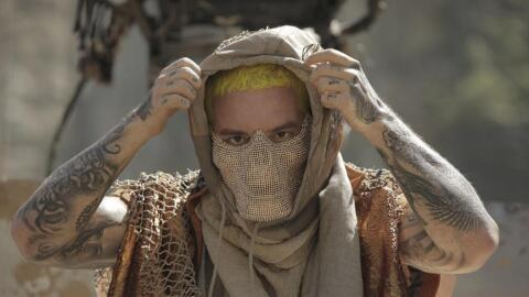 Colomiban reggaeton artist J Balvin appears in a scene from his latest m...