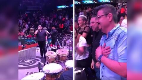 Oscar Iván, vocalista de Grupo Duelo, mostró su reconocimi...