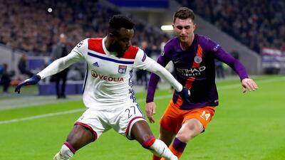 Con estos goles, Lyon y Manchester City empataron 2-2 en la Champions League