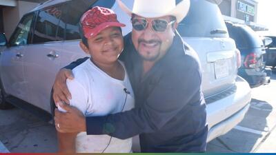 Conoce a Raymundo, el niño pintor de 13 años que sueña con ser abogado