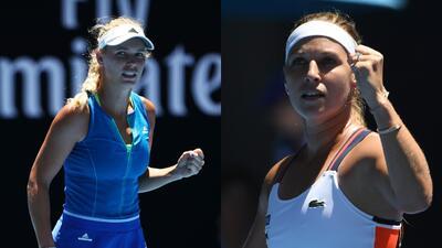 Wozniacki y Cibulkova, bellas ganadoras en el Australian Open: ¿a quién prefieres?