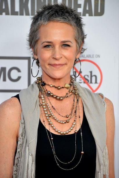 Melissa McBride interpreta a la polémica Carol, quien comenz&oacu...