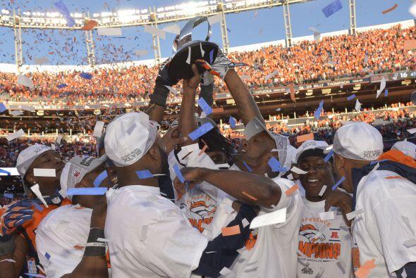 Los Broncos lograron coronarse en la Conferencia Americana al ganar a lo...