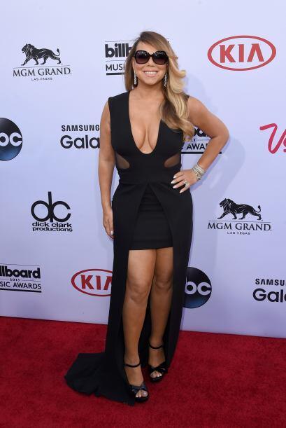 Mariah Carey fue otra de las mujeres más esperadas de la noche.
