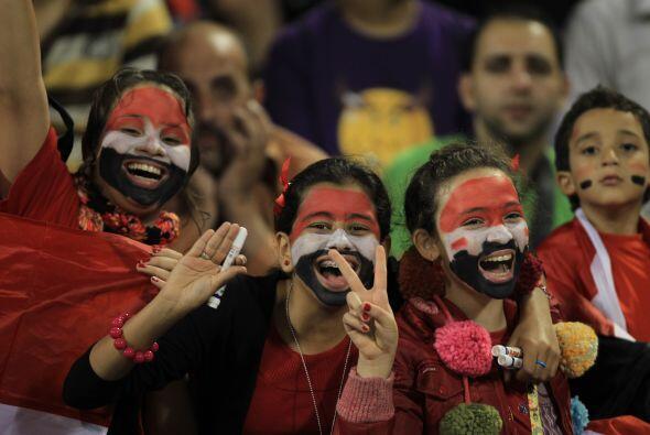 Había gran expectativa, ya que Brasil quería cerrar bien el año y Egipto...