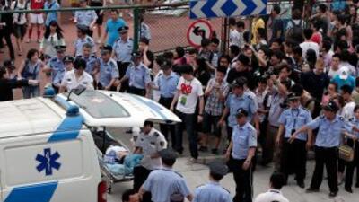 Beijing culpa habitualmente a los separatistas de Xinjiang de perpetrar...