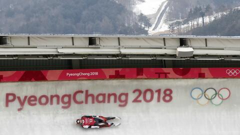 Los Juegos Olímpicos de Invierno se celebran en Pyeongchang, Core...