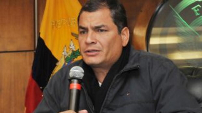Rafael Correa, presidente de Ecuador.