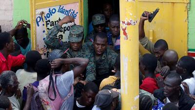 En fotos: El hambre y el cólera agobian a los habitantes de Haití después del paso de Matthew