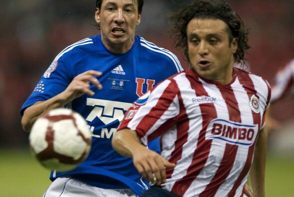 Empate en las semifinales de Libertadores. Chivas en su casa qued&oacute...