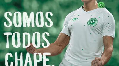 Chapecoense lucirá jersey especial en encuentro ante Barcelona
