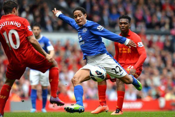 Sin embargo, el partido acabó con empate sin goles y los 'Toffees' sigue...