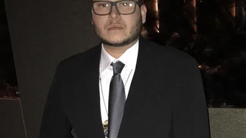 """Campos fue condecorado con el """"SPFPA Hero Award"""" por la valent..."""