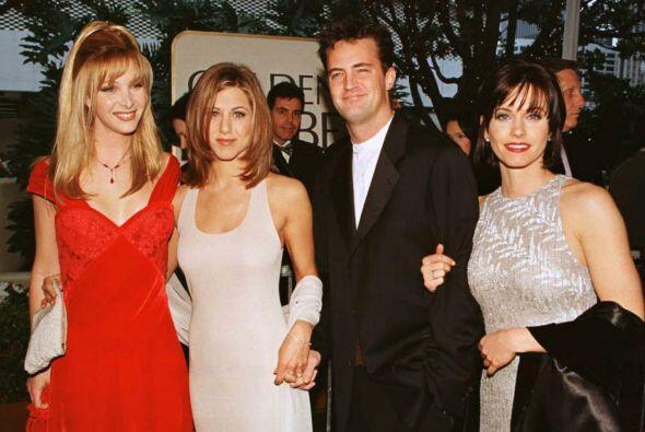 La moda los talentos de 'Friends' era muy 'vintage' hace un par de a&nti...