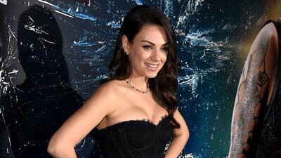 Mila Kunis está encantada con sus nuevas curvas