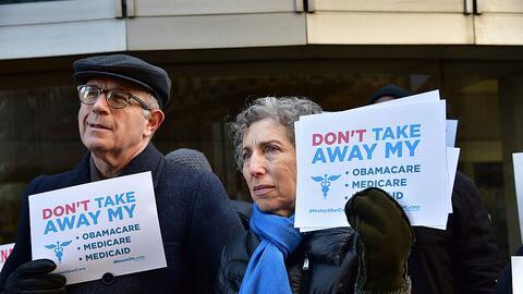 Los participantes de esta protesta el mes pasado en Filadelfia pidieron...