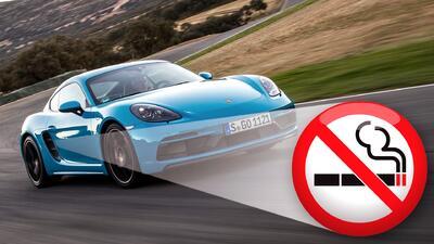 Los Porsche 718 Cayman y Boxster nos dan otra buena razón para dejar de fumar