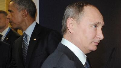 Barack Obama y Vladimir Putin