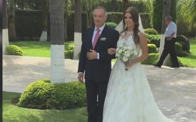 Primicia: Michelle Renaud se casó con el amor de su vida y tuvo una boda...