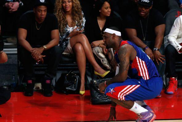 ¿Jay Z, Beyoncé y LeBron en la misma foto? ¡Ahora sí es Juego de las Est...