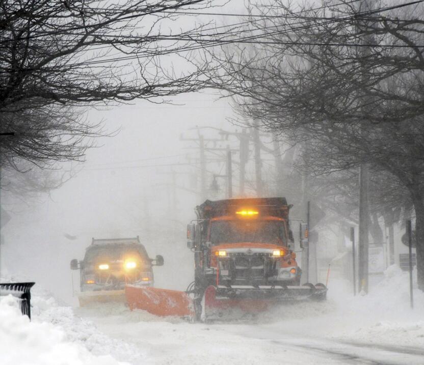 Tormenta de nieve en el noreste