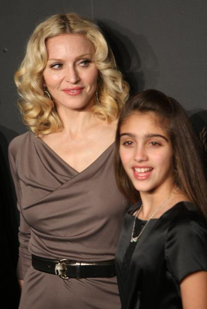 En febrero de 2008, mami e hija en una gala benéfica. Mira aqu&ia...