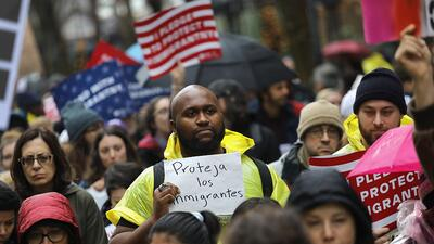 Cientos marchan en Nueva York en el Día Internacional del Migrante