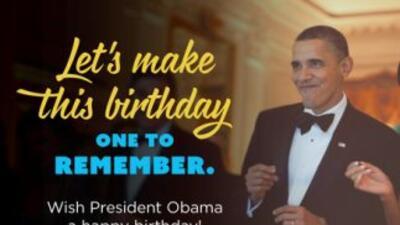 ¡Feliz cumpleaños presidente!: Barack Obama cumple 53 años