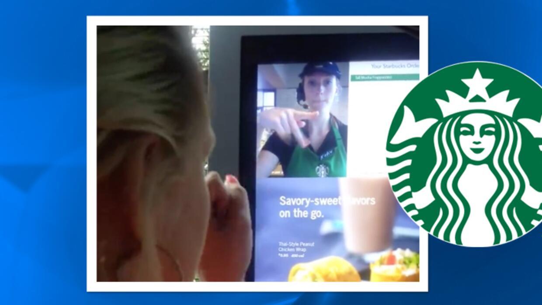 Barista de Starbucks sorprende a cliente con lenguaje de señas