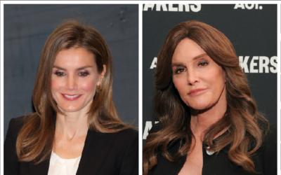 Caitlyn Jenner y la Reina Letizia