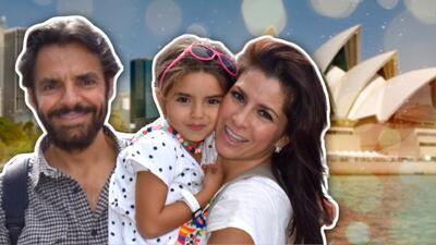 Alessandra Rosaldo y su familia ya se encuentran en Sydney para hacer de las suyas...