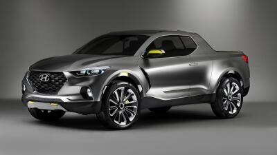 Fotos de la Hyundai Santa Cruz concept