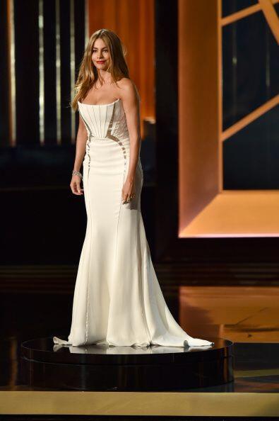 Sofía Vergara no estuvo nominada, pero sí muy contenta de que Modern Fam...