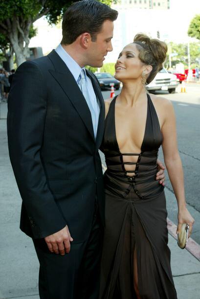 """La pareja apareció junta en dos películas: """"Gigli"""" y """"Jersey Girl""""."""