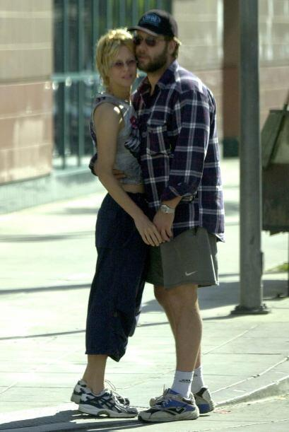 La pareja se conoció durante el rodaje de la película 'Proof of Life' en...