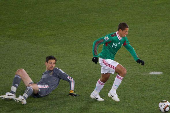 Con el gol ante Ecuador, el 'Chicharito' llegó a 39 tantos con México en...