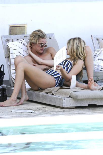 Gigi Hadid y Cody Simpson presumieron su amor en Florida.