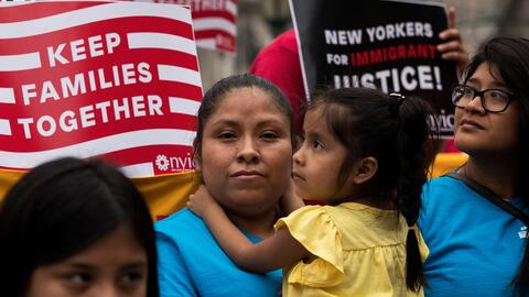The survey shows that most Americans are sympathetic to undocumented imm...