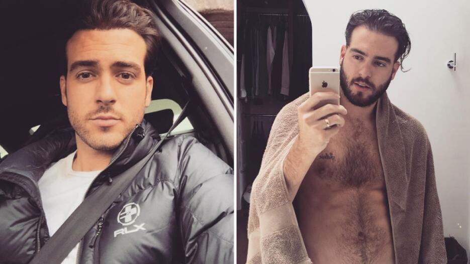 Galanes de telenovela con y sin barba