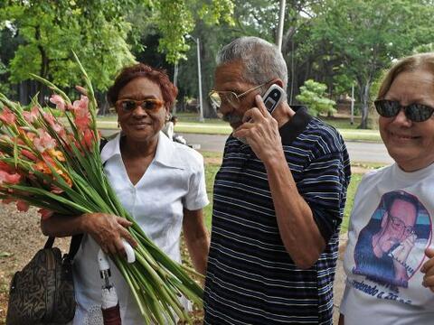 La liberación del disidente cubano Arnaldo Ramos, quien fue el pr...