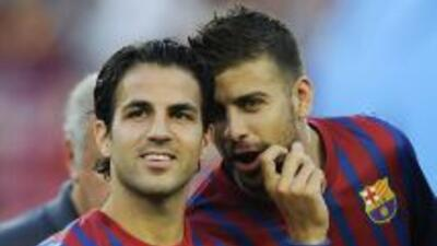 El defensa catalán, e íntimo amigo de Fábregas, asegura que Cesc no ha p...