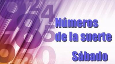 Números de la suerte sábado