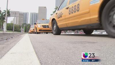 Batalla entre taxistas de Miami y Uber