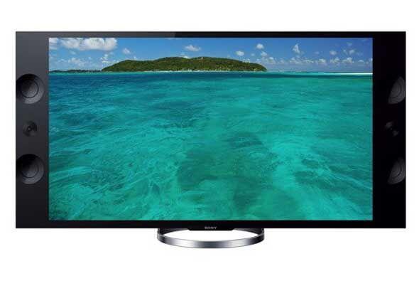 La nuevos televisores de la serie Sony Bravia X9000A (55 o 65 pulgadas)...