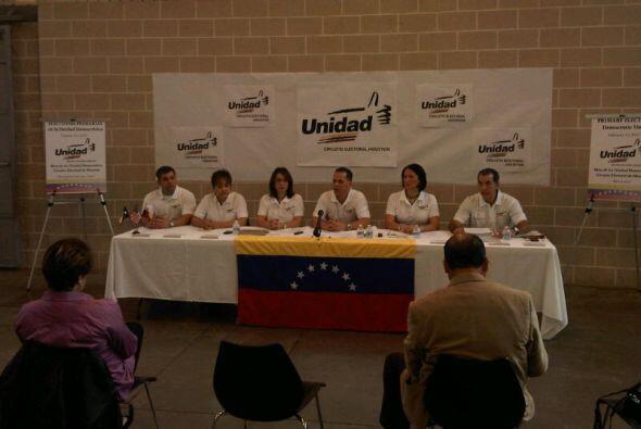 La organización electoral venezolana, Mesa de La Unidad Democr&aa...